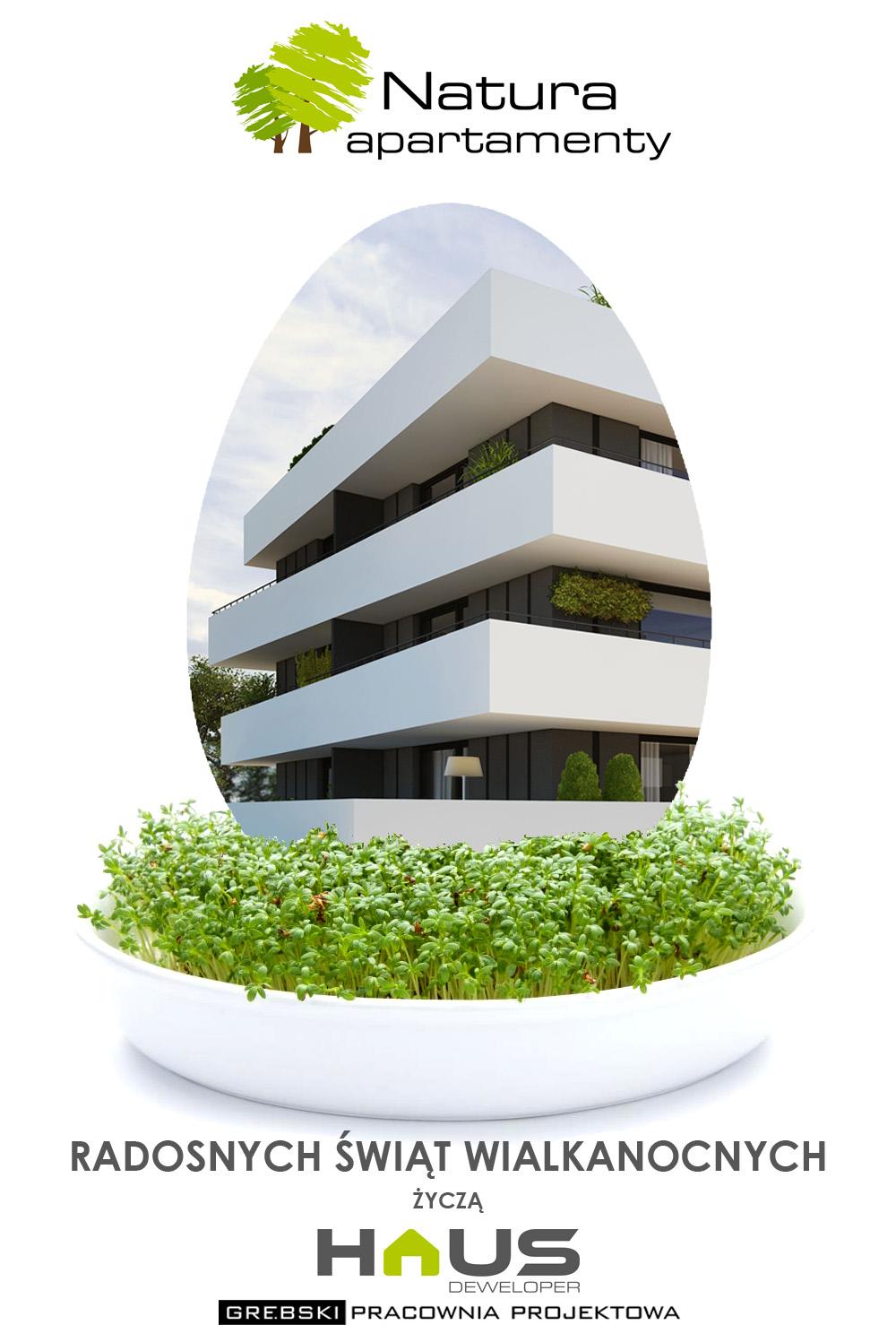 Apartamenty Natura - Kartka Wielkanocna