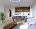 Apartamenty Natura - Wizualizacja Wnętrz 1