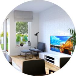 Apartamenty Natura - wizualizacje wnętrz