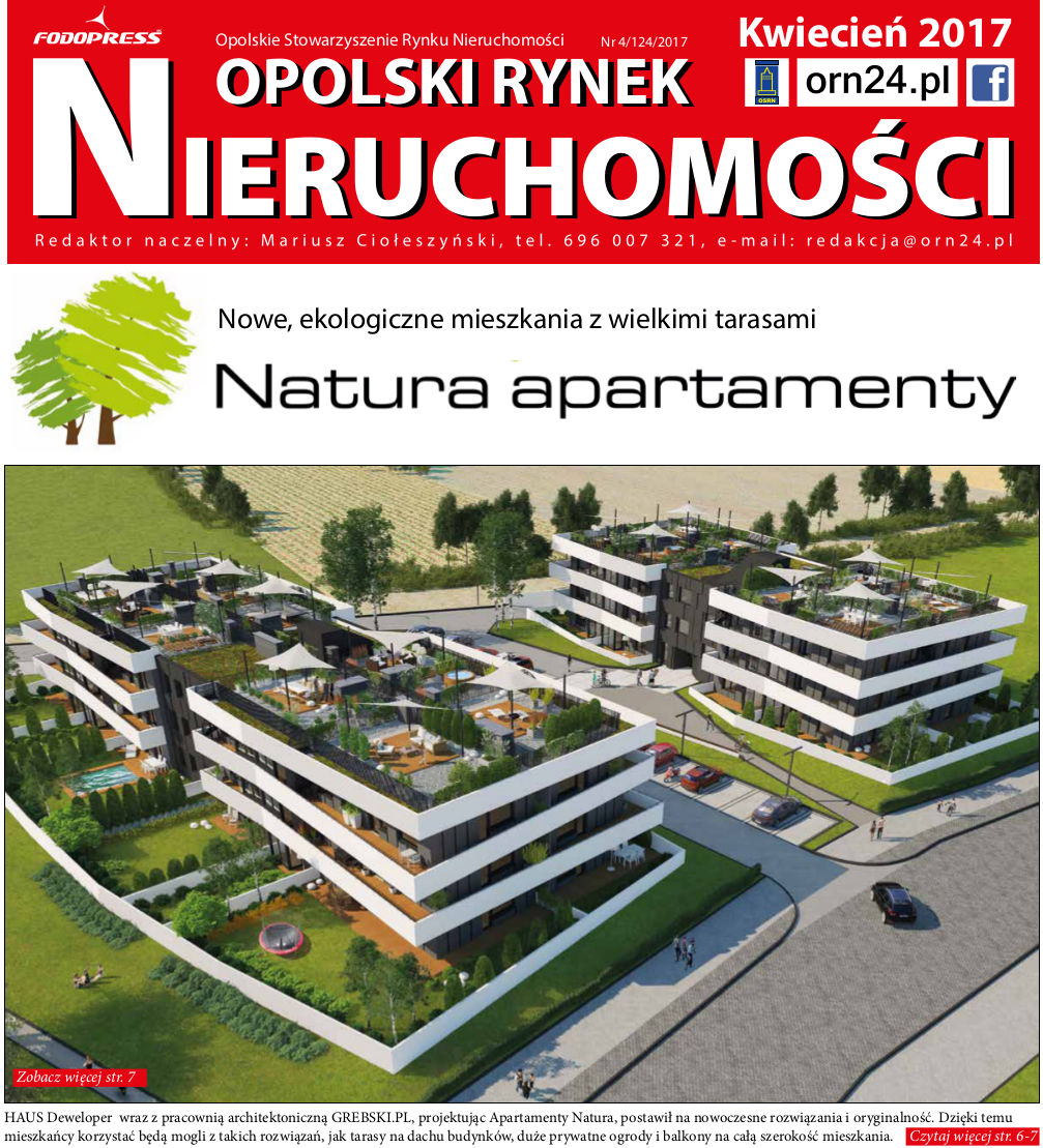 Apartamenty Natura - Opolski Rynek Nieruchomosci