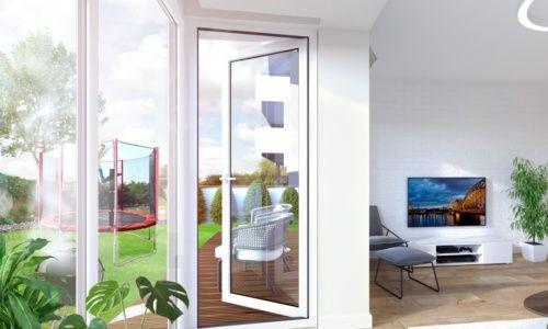 Apartamenty Natura - wizualizacja wnętrz 3