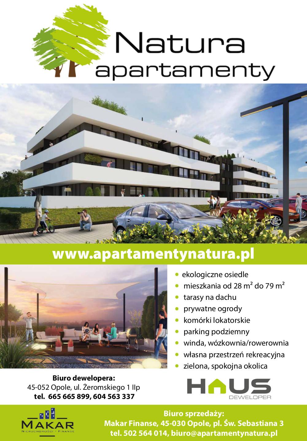Apartamenty Natura - Opolski Rynek Nieruchomosci 05-2017